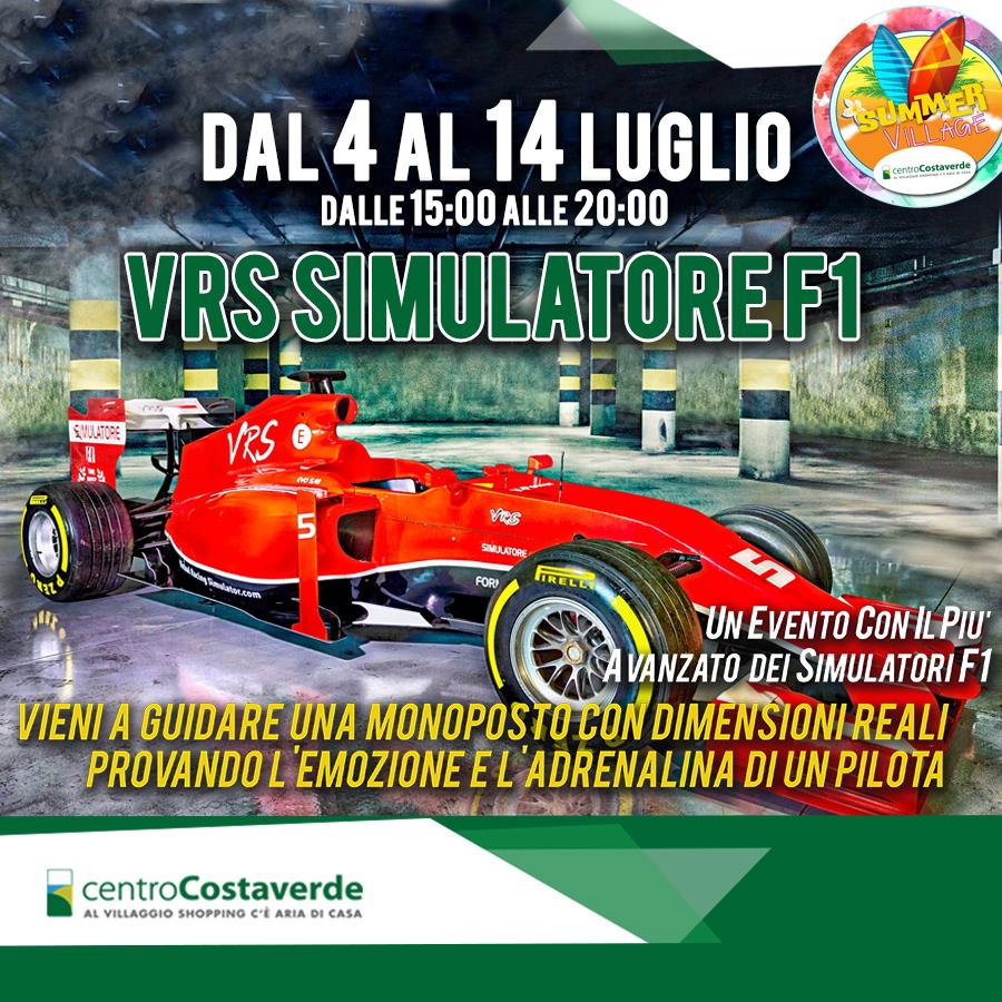 VRS simulatore F1