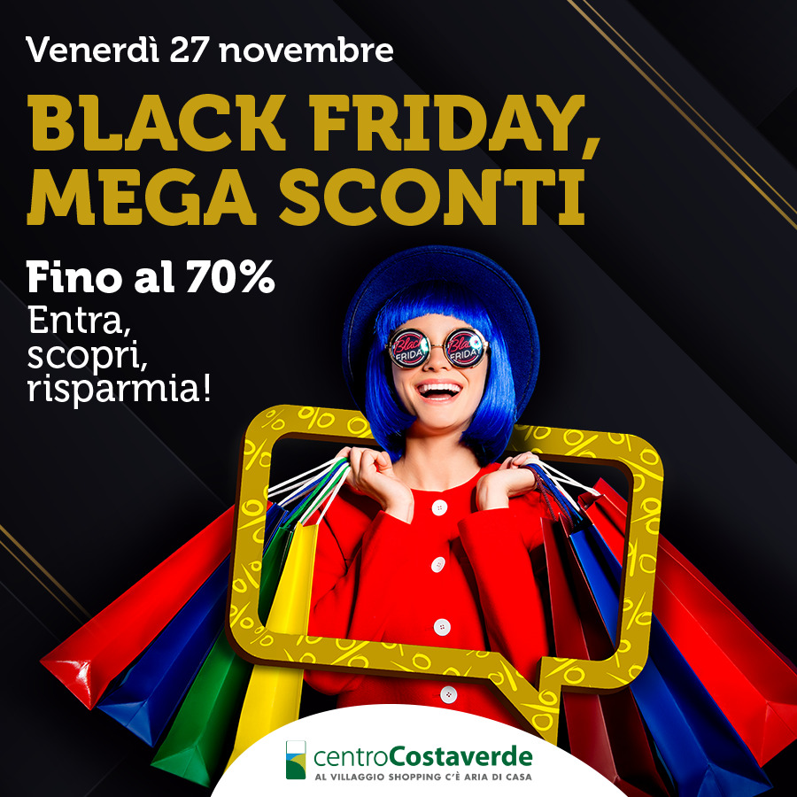 Black Friday Mega Sconti!