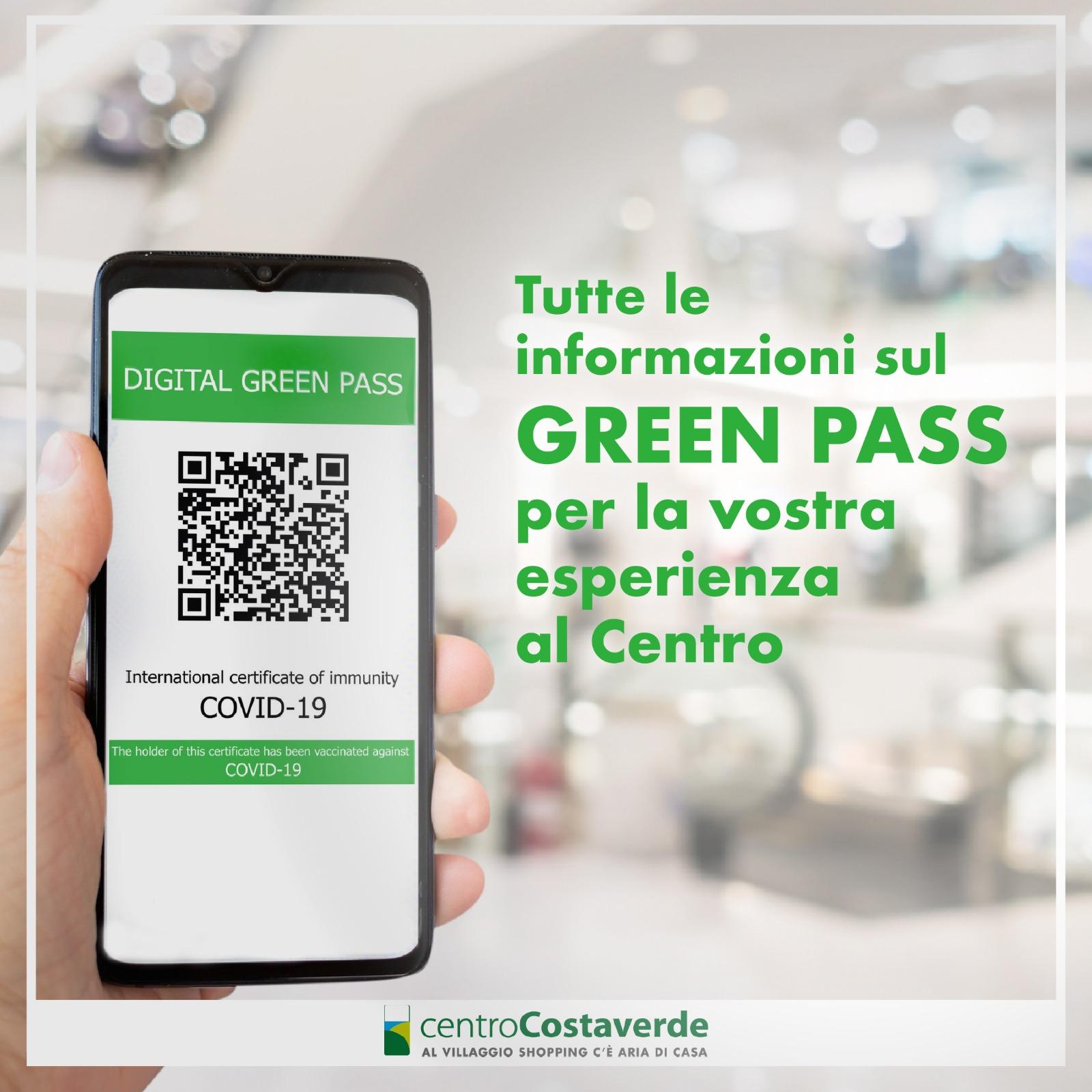 Green Pass al Centro Costaverde